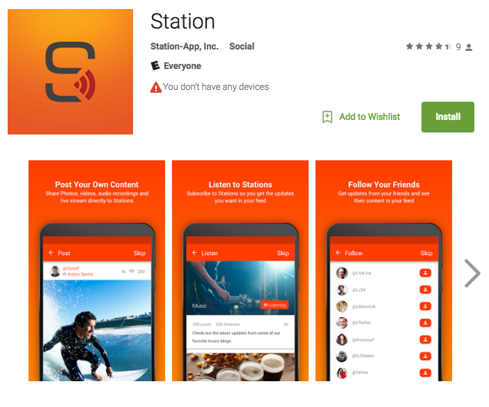 You can also download Station for Android in the Google Play Store! 🎉 #celebrate https://t.co/plaflNQkRl https://t.co/64H2o3JLB9