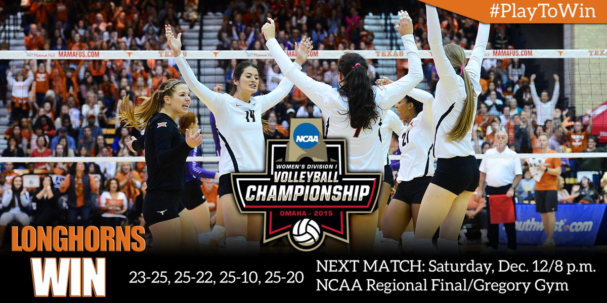 TEXAS WINS!!! 10-STRAIGHT REGIONAL FINALS #PlayToWin #Elite8 https://t.co/Z0obtXr0u3