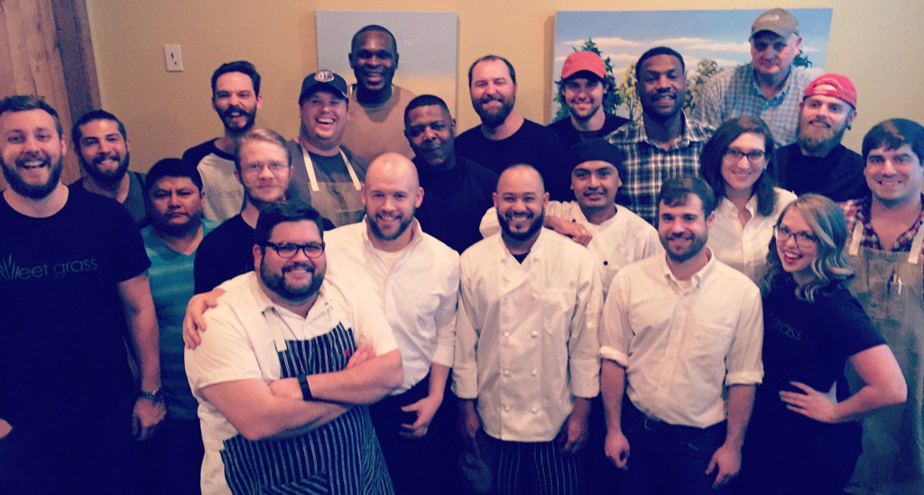 Thanks to @macbo50 & @aa000g9 for coming by Next Door tonight!