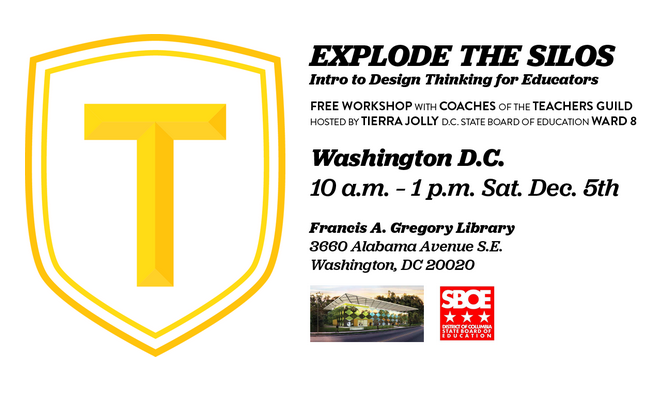 Thumbnail for Explode the Silos - A Teachers Guild Design Thinking Workshop