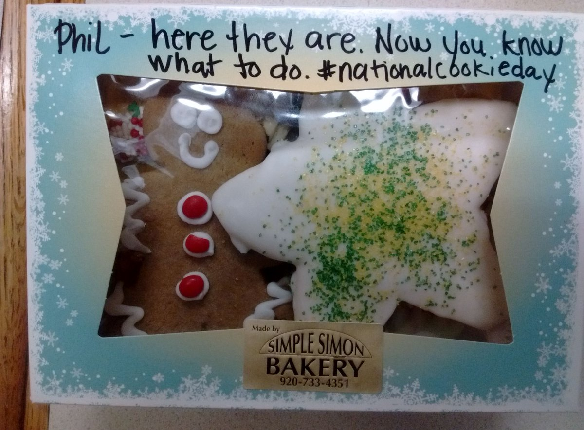 Our #philcast friends at @simplesimonbake come through! The place to get great cookies! #NationalCookieDay