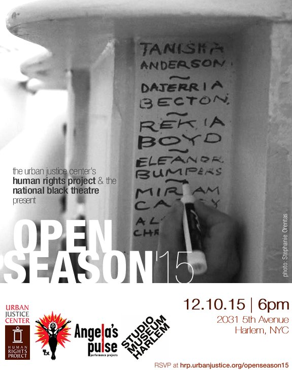 Join us on 12/10 for art, performances, discussion and more at #OpenSeason2015. RSVP https://t.co/cILLyEK0wV https://t.co/wR4BJiVRO7