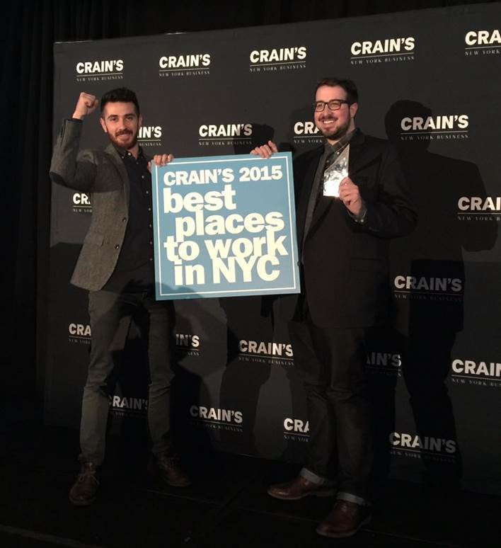 What a momentous week! #Text100 named 12th on @CrainsNewYork top 100 #BestPlacesToWork https://t.co/ekBWDsN4cN https://t.co/FCDRJzUcLv