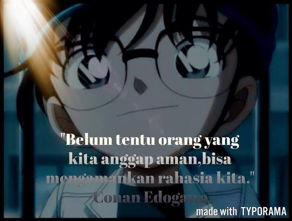 be inspired on conan edogawa quotes quotesanime