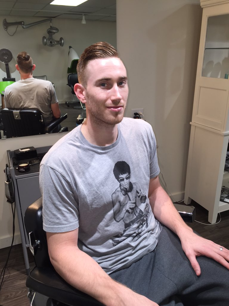 Gordon Hayward on Twitter: quot;Had to get a fresh cut from my guy @the