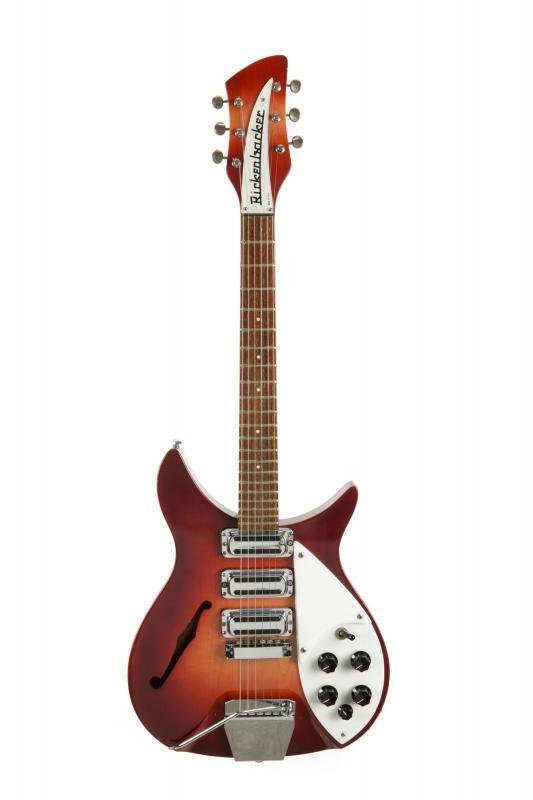 JUST SOLD for $910,000! #JohnLennon's #TheBeatles' Rickenbacker Gifted to #RingoStarr! Info: https://t.co/NIcM6neHKE https://t.co/HHRBY2KRHj
