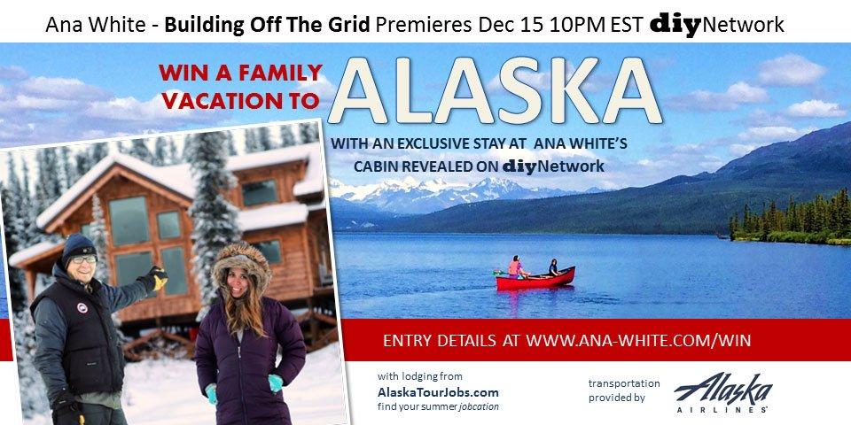 Our @DIYNetwork show premieres on Dec 15 10PM EST!  Giving away Alaska Vacay!  https://t.co/xR5Q3kBUoC https://t.co/BZHZX8euAp