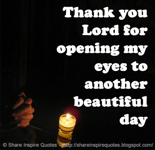 Share Inspire Quotes On Twitter Thank You Lord For Opening My
