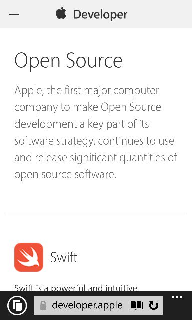 Whoever said we shouldn't mock @apple for their laughable open source effort and give them a chance didn't see this https://t.co/c66UZqyq5l