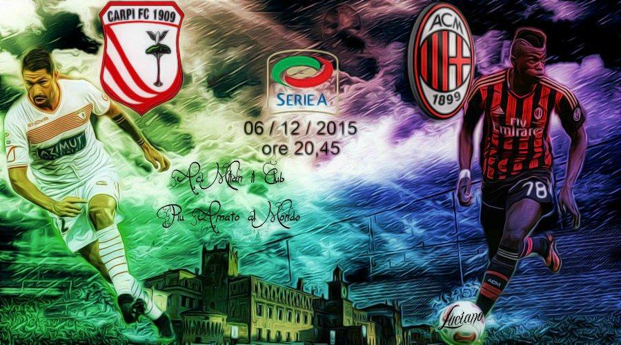 Carpi-Milan in Diretta Streaming gratis con Sky