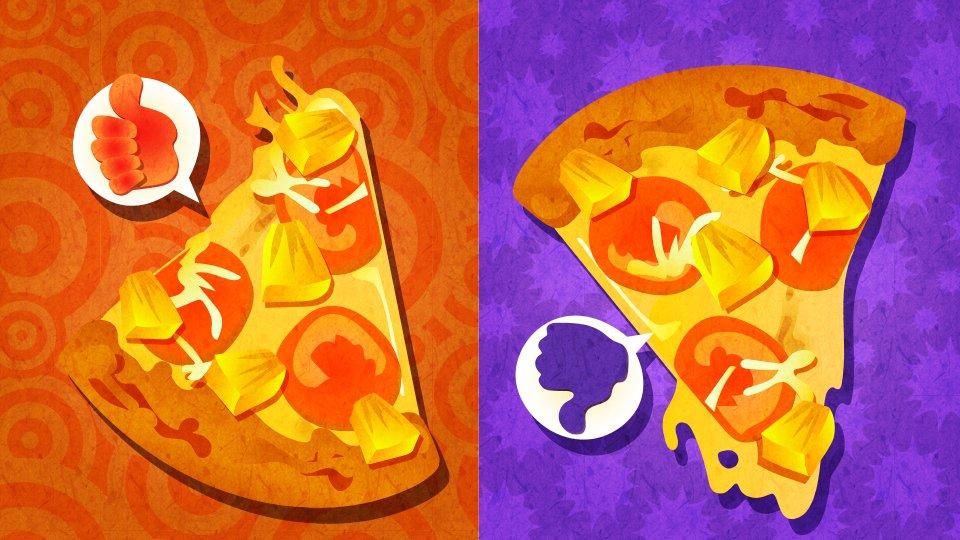 [欧州] 第8回 「ピザの具にパイナップルは アリ vs ナシ」
