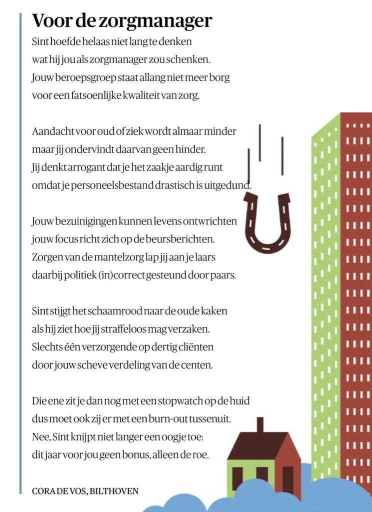 Robert Vermeiren On Twitter Sinterklaas Gedicht Voor De