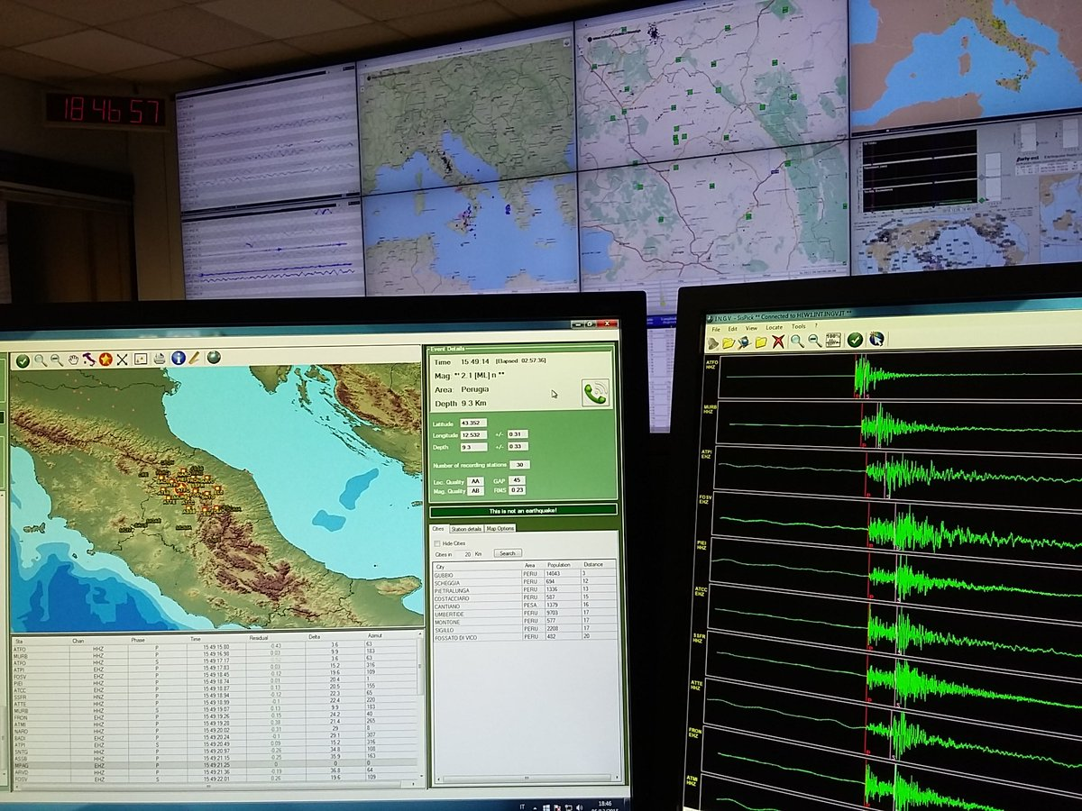 Terremoto Oggi Abruzzo: scossa in Mar Adriatico di fronte le coste della provincia di Chieti