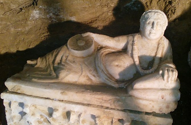 Ancient Etruscan Tomb Found 'Undisturbed' In Italy