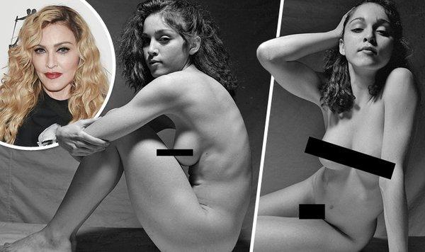 Singer Madonna Naked Singer Bares All In Series Of Lost -2163