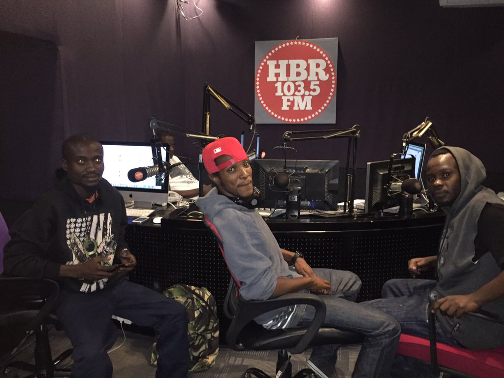 @HomeboyzRadio right now with @onetheincredibl and the Tumaini squad https://t.co/roBdZh4Crg