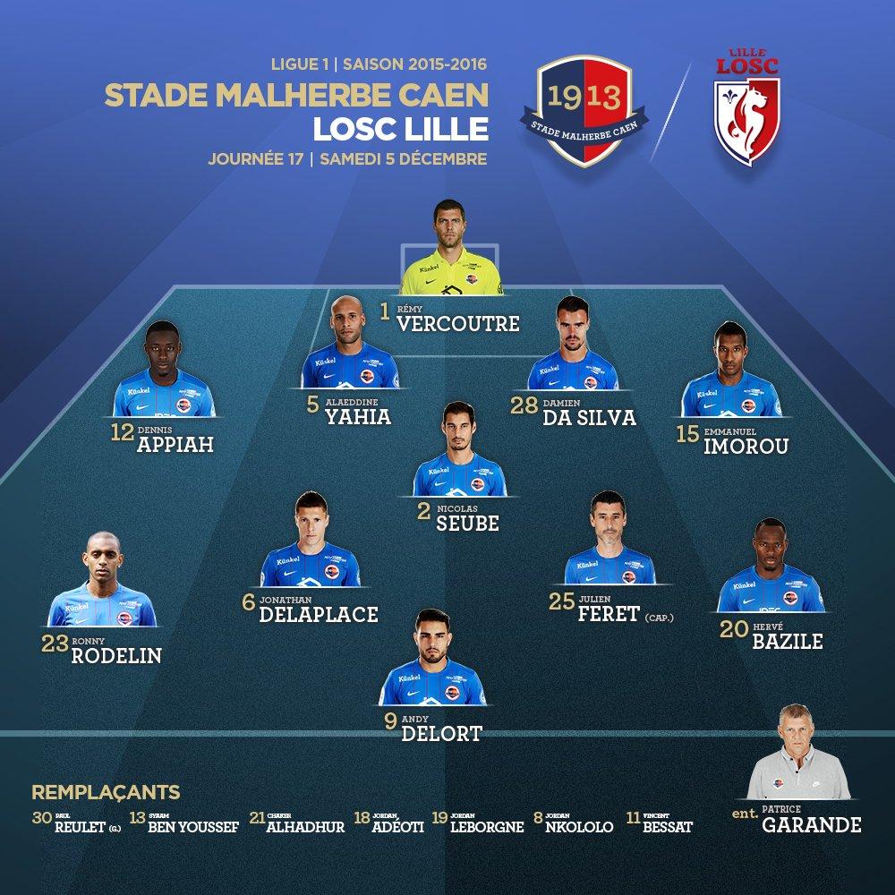 [17e journée de L1] SM Caen 1-2 Lille OSC CVevpb5WUAAqAtQ
