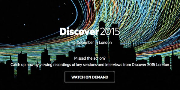 Missed #HPEDiscover 2015? Catch up with on demand videos: https://t.co/tRdX9PKg2g... https://t.co/lIgbFE1Hdq https://t.co/0jGorgIU0T