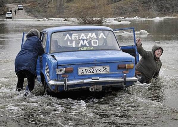 """Любимец Путина байкер """"Хирург"""" - протестующим дальнобойщикам: Страна несет гигантские траты, надо потерпеть - Цензор.НЕТ 9570"""