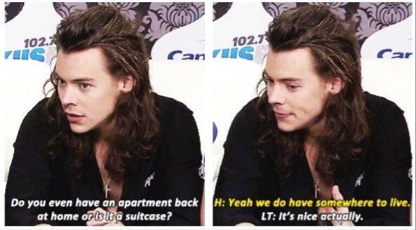 Is harry dating louis