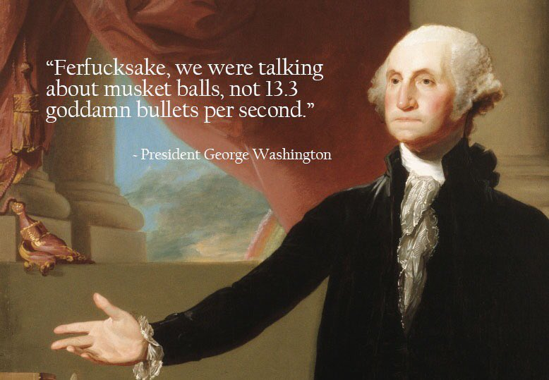 My George Washington meme is working itself around Facebook.  #SanBernadino https://t.co/IF5on9tkLE