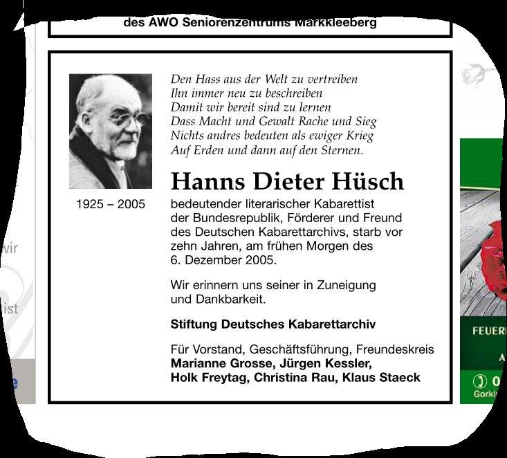 Hüsch Hashtag On Twitter