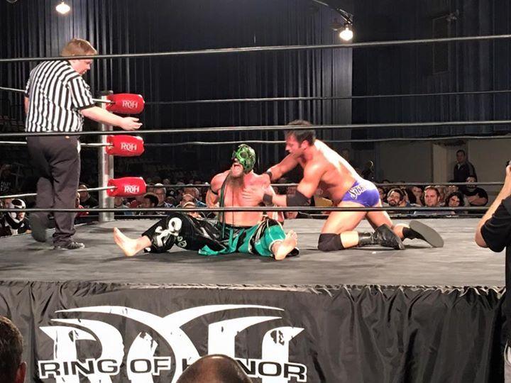 Resultados de ROH Road To Final Battle 2015 (5 de diciembre de 2015) - Último show antes del PPV Final Battle 3