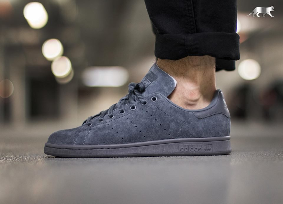 Adidas Stan Smith Suede Sneaker