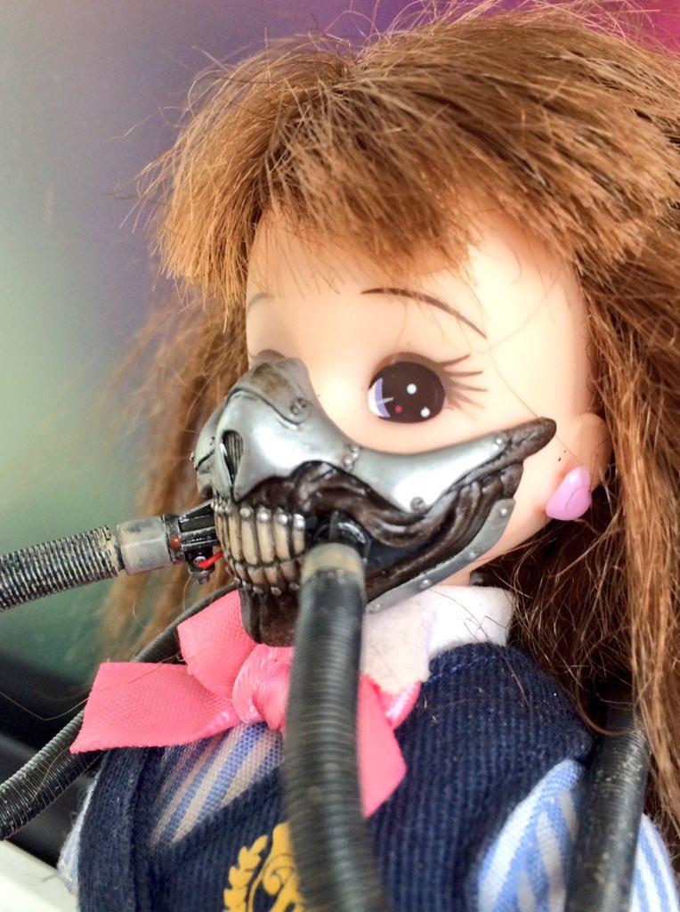 """""""マッドマックス""""なリカちゃん人形は超ワイルドだwww"""