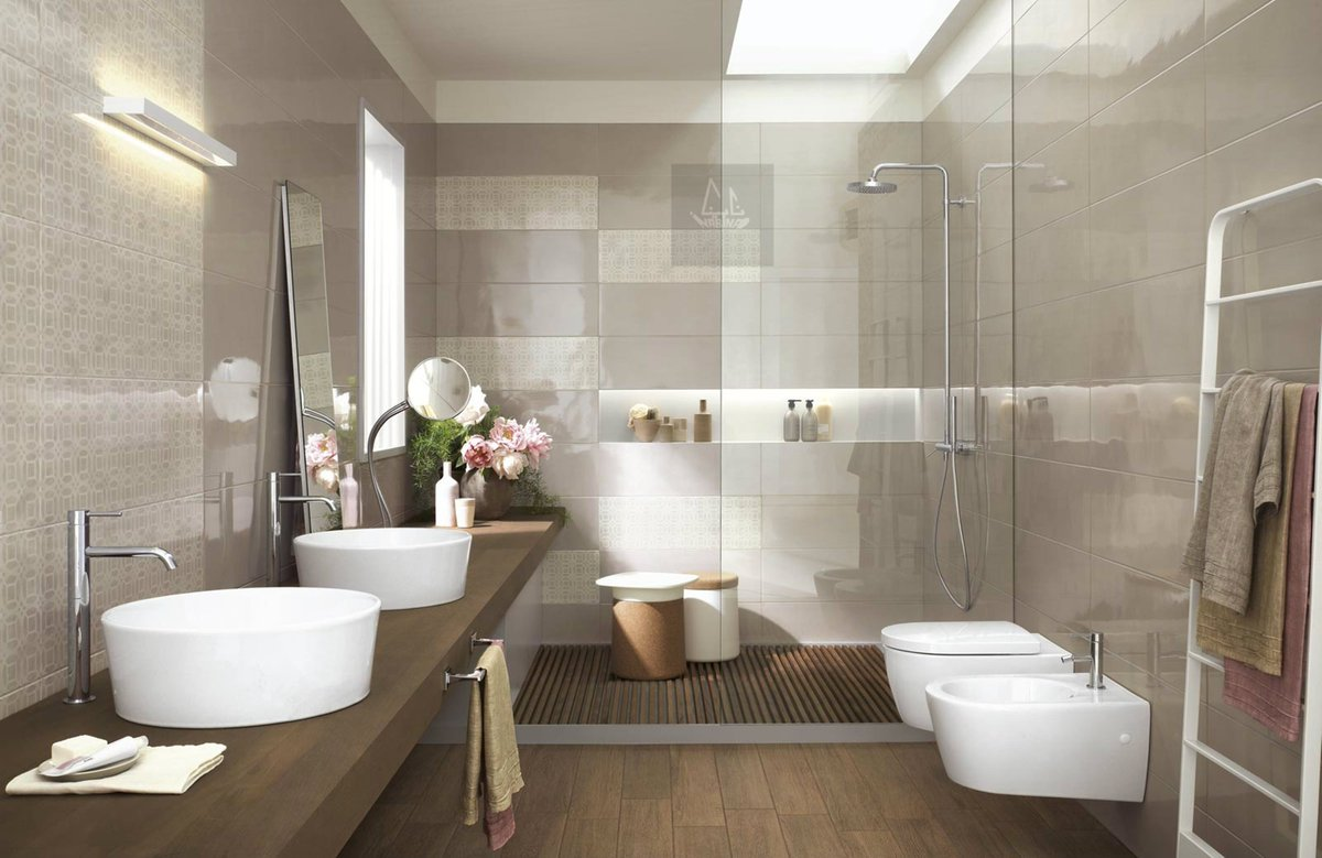 Nabina ceramic on twitter good morning nabina ceramic doha qatar - Salle de bain beige et blanc ...