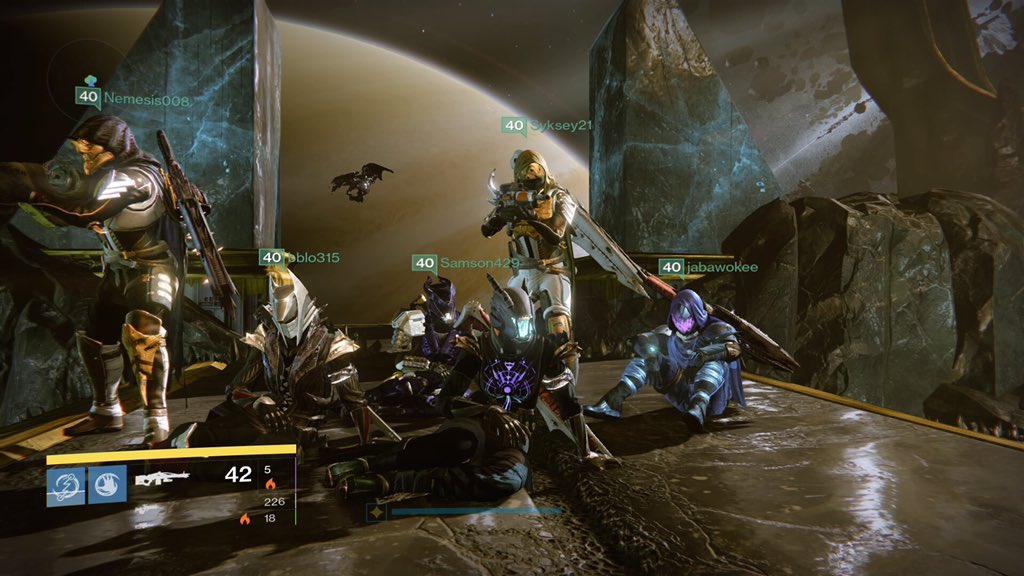 Helped another person get their 1st Oryx kill... took way less time than expected with @DestinyRaiders https://t.co/qsMtnTlWI7