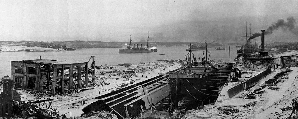 halifax harbour explotion the day the war came home