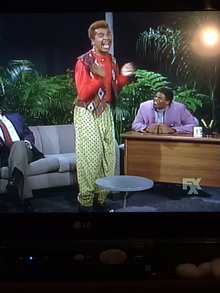 That time David Allen Grier played @sinbadbad on #inlivingcolor #classic https://t.co/0vQRWkVb3c