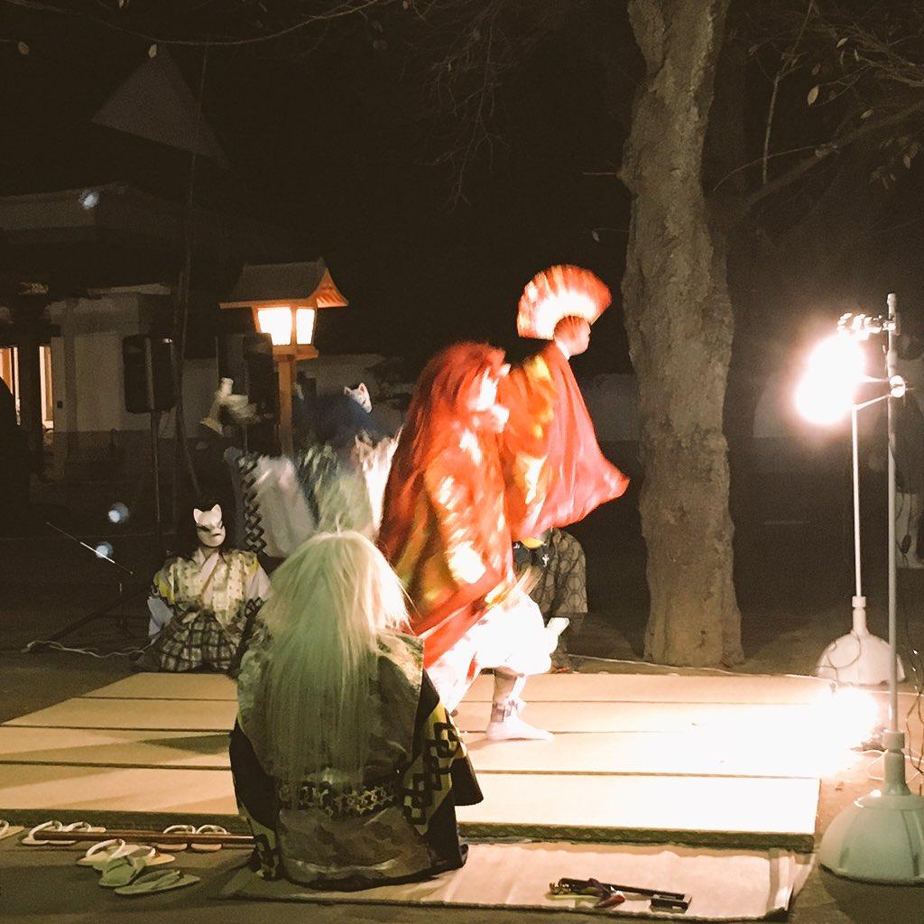 蓮馨寺、日も暮れてとても異世界。 https://t.co/RELoZN6zZ9