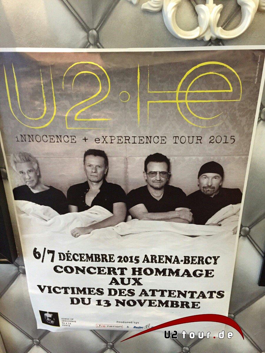 Tonight! #U2ieTour #U2Paris #StrongerThanFear https://t.co/DFCUruKhZC