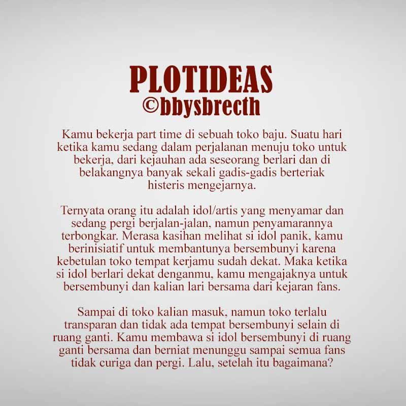 Plot Ideas  on Twitter: