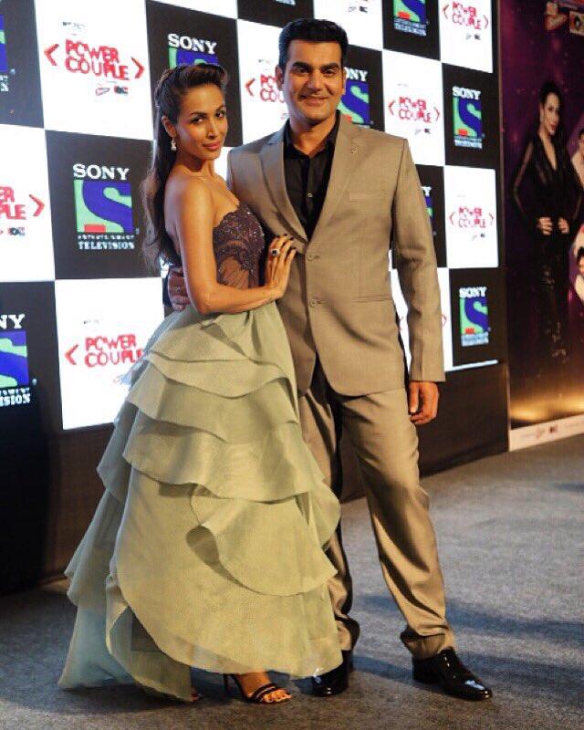 Malaika Arora Khan and Arbaaz Khan in Power Couple