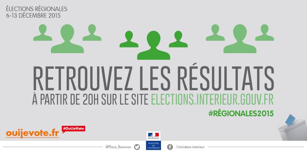 ds 20h retrouvez les rsultats sur electionsinterieurgouvfr rgionales2015 ouijevote