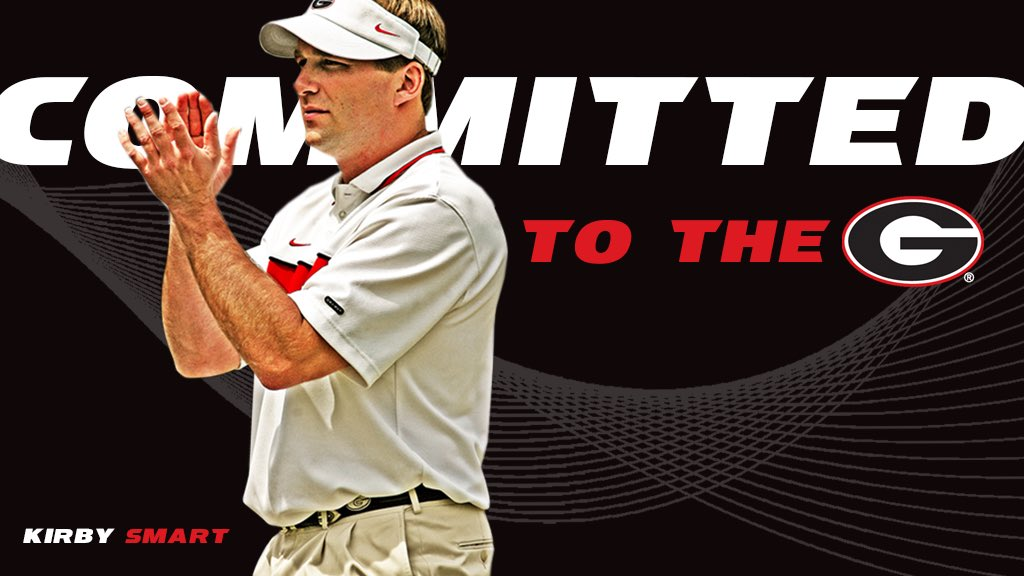 It's official! Kirby Smart is the head football coach at Georgia! https://t.co/yJZH4GrPYK