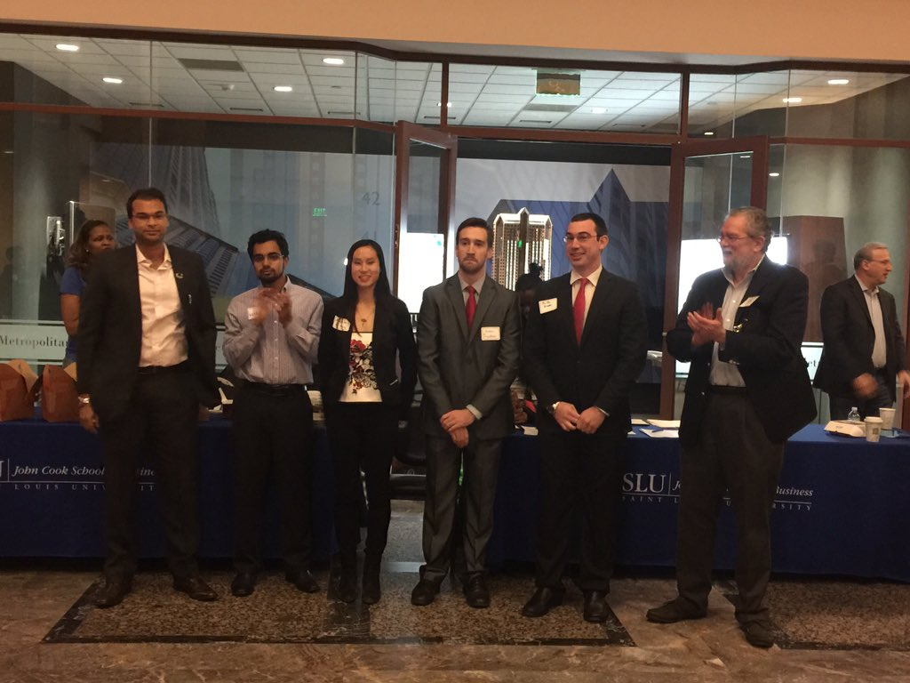 #congrats to #cast21 winners of the #SLUrealelevatorpitch for profit competition! https://t.co/yxFb2jCBqw