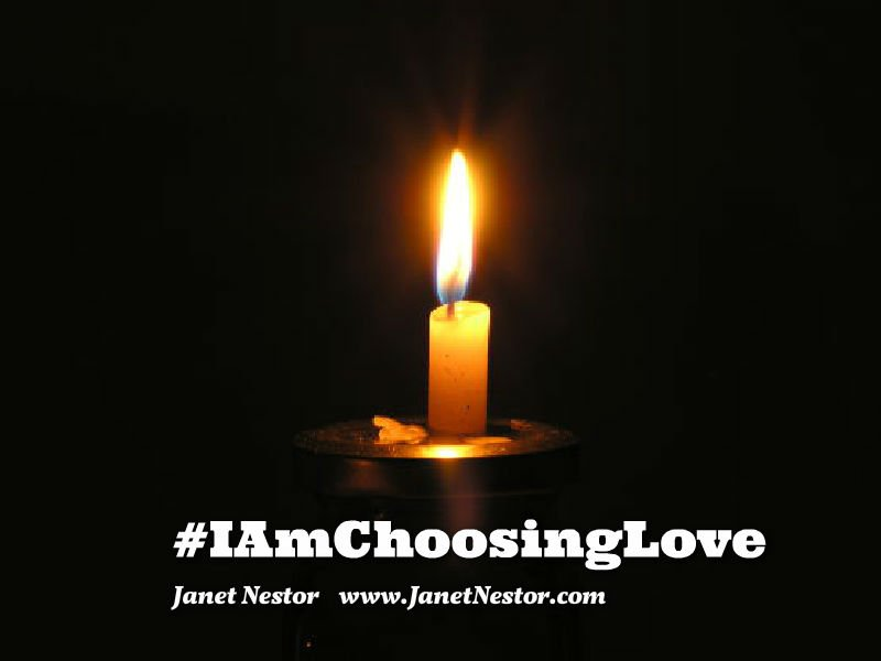 Light your candle and keep it burning for peace within each heart.   #IDWP #IAmChoosingLove #LoveChangesPeople https://t.co/IbYWHwNAwO