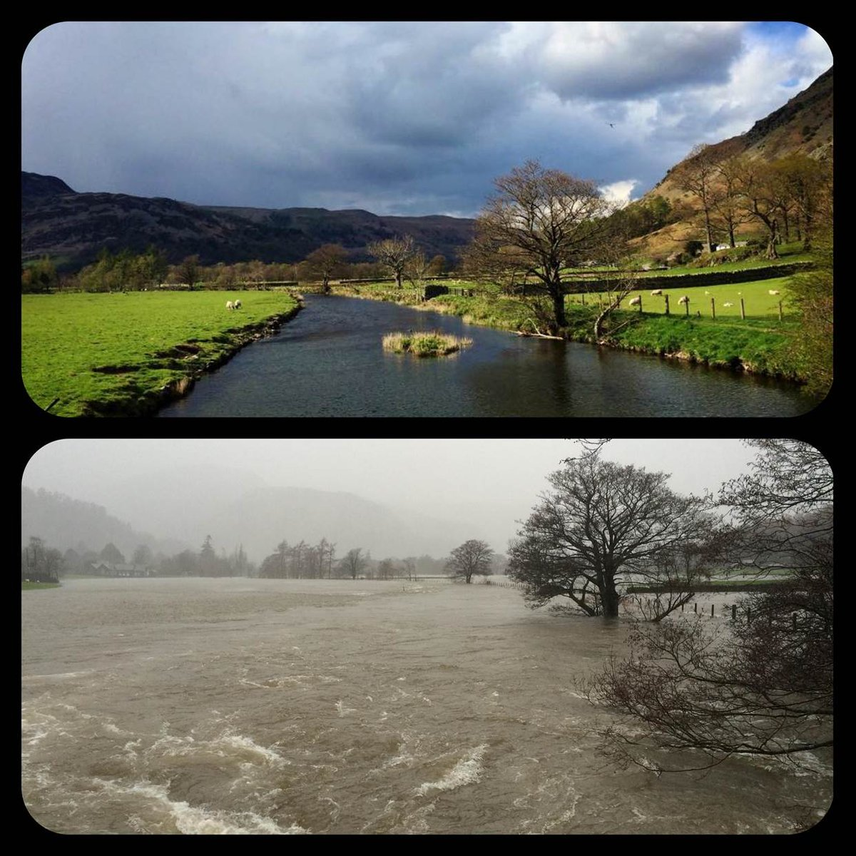 cumbria flood bride battles - 600×600
