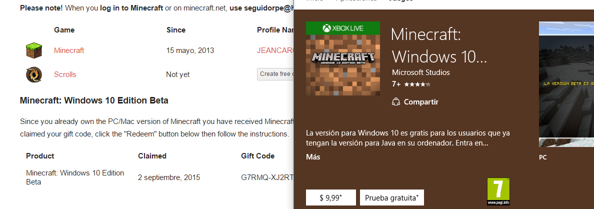 minecraft windows 10 edition free download