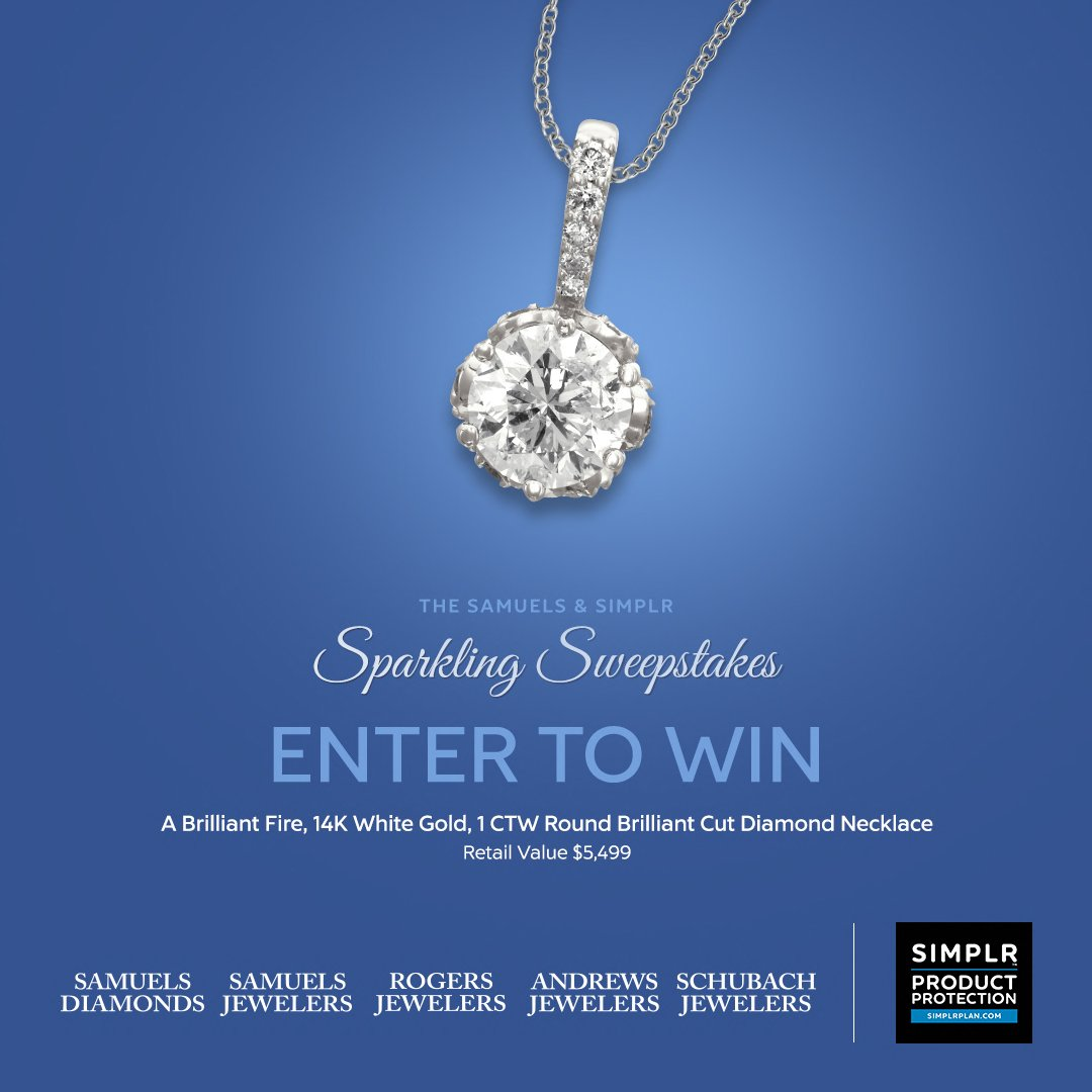 Only 5 days left to enter to win a $5,499 Diamond Necklace in our #sweepstakes! Enter here: https://t.co/PZSDG6ruGI https://t.co/1J7DioWPM3