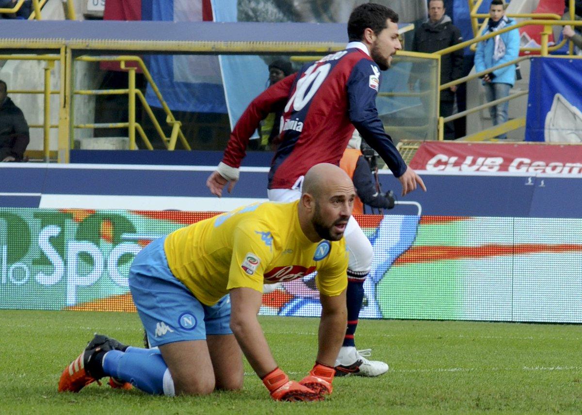 Matteo Destro decisivo nel match Bologna-napoli 3-2
