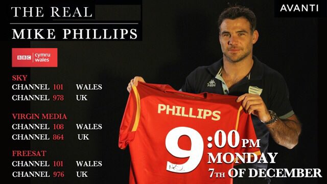 9pm tomorrow 'the real Mike Philips' is on.see how much of a top rugby player / professional he is @mikephillips009