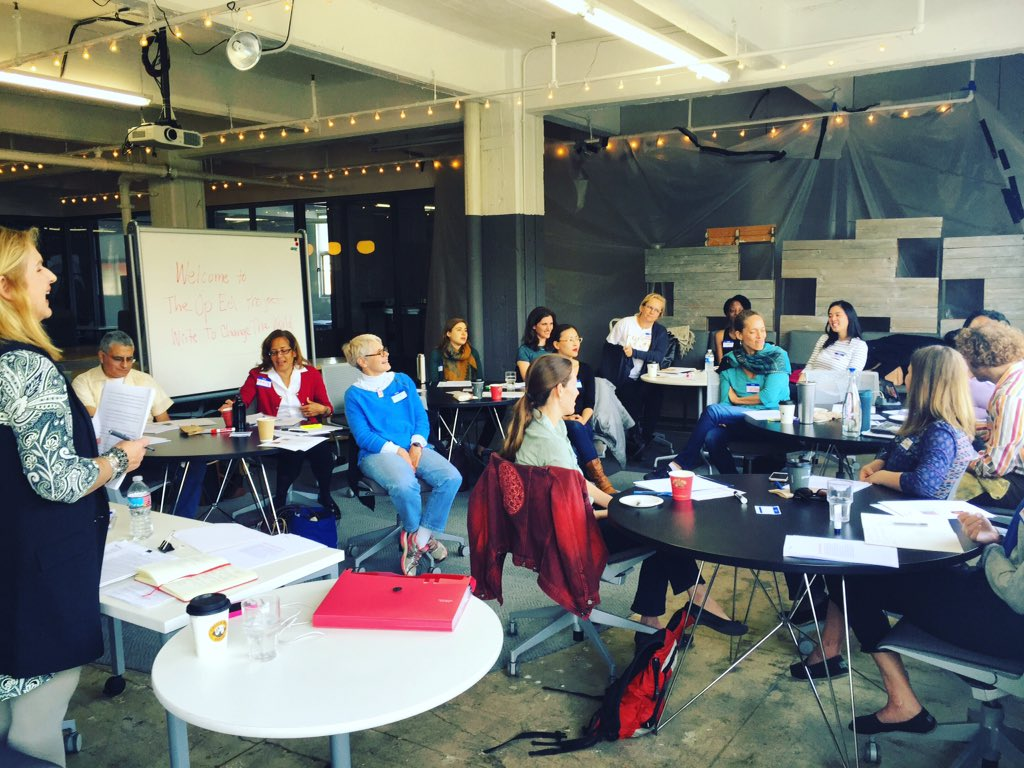 BRAVA to the 60 women & men here to  #WriteToChangeTheWorld w @TheOpEdProject in Chicago NYC & LA today. Go get em! https://t.co/ibW31o9AV5