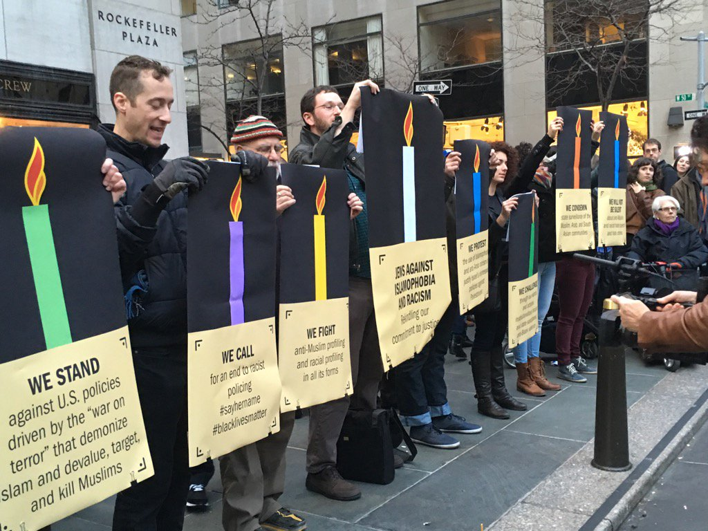 NY Jews against Islamophobia-Racism will not be silenced condemns state surveillance of Muslim Arab& So Asians https://t.co/aHJTEeagqN