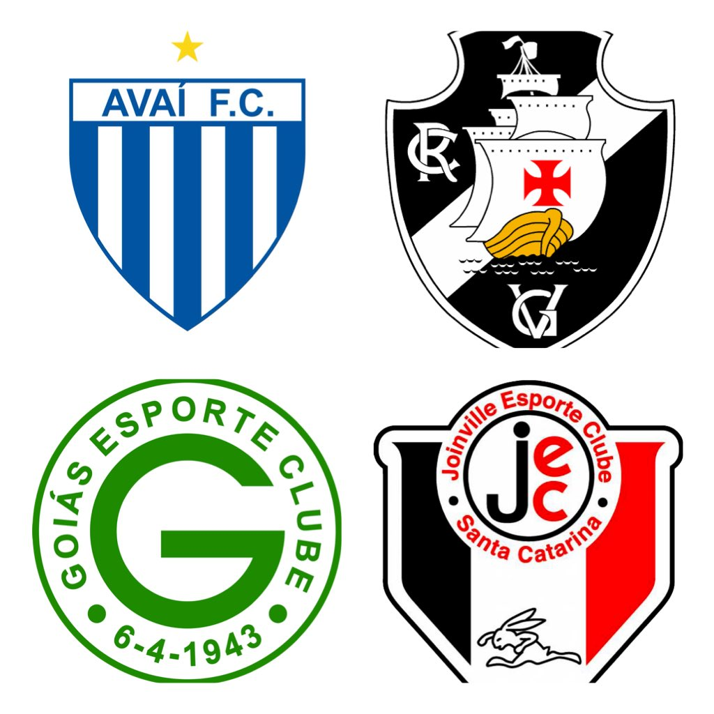 Real Football Brazil On Twitter Avai Vasco Goias And Joinville