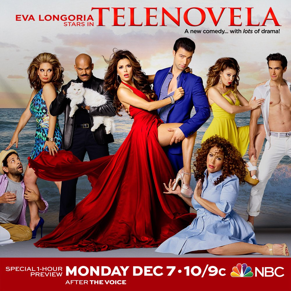 Can't wait to watch my girl @EvaLongoria in her new comedy #Telenovela tmrow at 10/9c on NBC after The Voice!! https://t.co/wnQ7WqJmGw